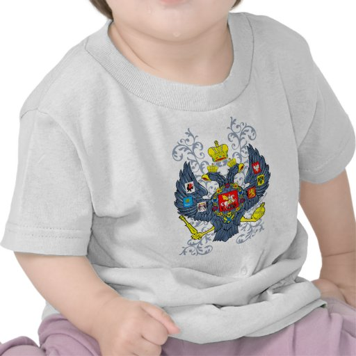 Old Russian Coat of Arms Герб Tshirt