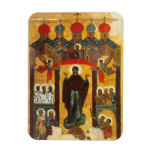 Old Russian icon The Intercession Rectangle Magnet