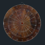 "Old Rusted Look Dart Board<br><div class=""desc"">Perfect for the man cave,  this custom dart board is done with graphics that give it a old rusted metal look.  Customize to add any text you want.  Perfect gift idea for the man who loves games.</div>"