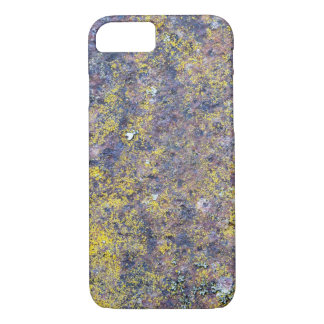 Old rusted metal surface with small yellow mold iPhone 8/7 case