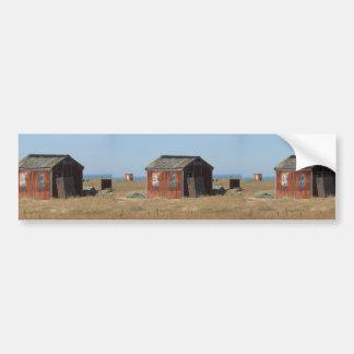 Old Rusted Shack Hut Cabinet Bumper Sticker