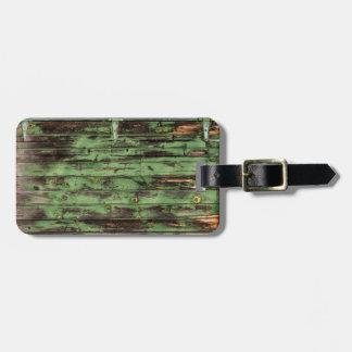 Old Rustic Barn Door Luggage Tag