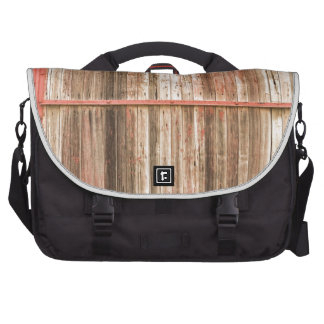 Old Rustic Railroad Train Car Door Laptop Commuter Bag