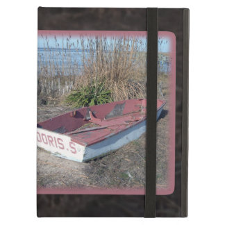 Old Rustic Row Boat Cover For iPad Air