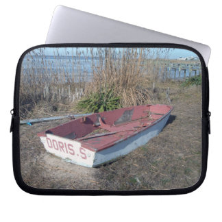 Old Rustic Row Boat Laptop Sleeve
