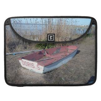 Old Rustic Row Boat MacBook Pro Sleeves
