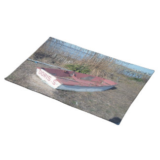 Old Rustic Row Boat Placemat