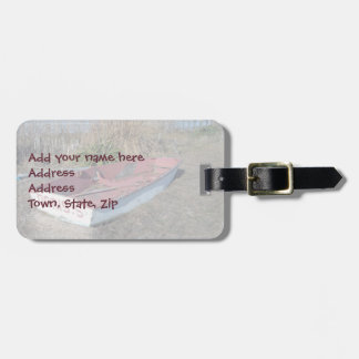 Old Rustic Row Boat Tags For Luggage