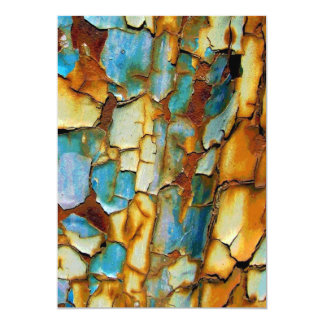 Old Rusty Background Personalized Invitations