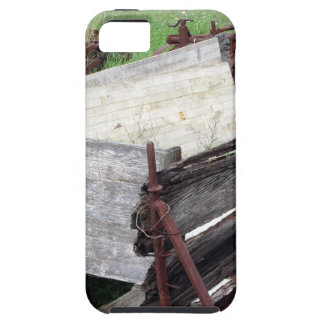 Old rusty cart iPhone SE/5/5s case