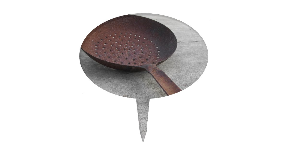 how to clean rusty cake pans