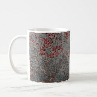 Old Rusty Metal Textured Coffee Mug