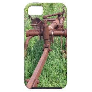 Old rusty plow iPhone SE/5/5s case