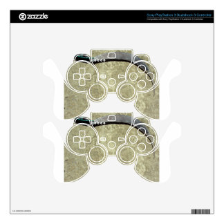 Old rusty sickle decal for PS3 controller