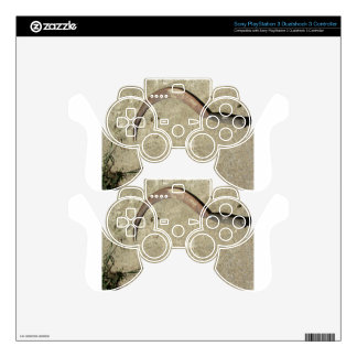 Old rusty sickle PS3 controller decal