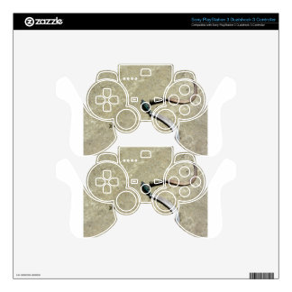 Old rusty sickles decal for PS3 controller
