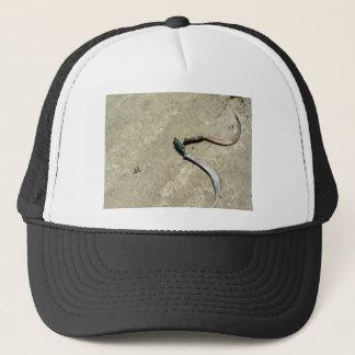 Old rusty sickles trucker hat