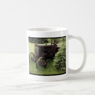 Old Rusty Tractor Coffee Mug