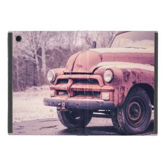 Old rusty truck covers for iPad mini