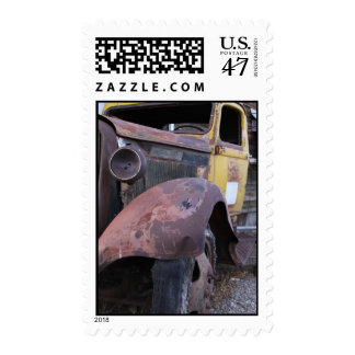 Old Rusty Truck Postage