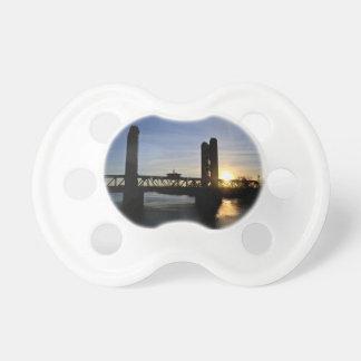 Old Sacramento Bridge Baby Pacifiers