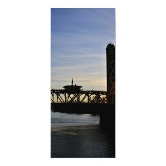Old Sacramento Bridge Personalized Invite