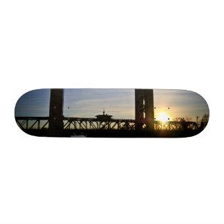 Old Sacramento Bridge Skate Deck