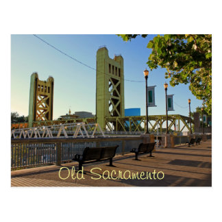 Old Sacramento Postcard