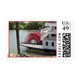 Old Sacramento Stamp