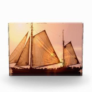 Old Sailing Ships Acrylic Award