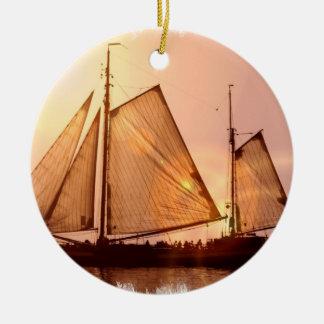 Old Sailing Ships Ornament