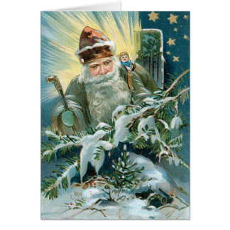 Old Saint Nicholas Card