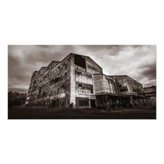Old Saint Nicholas Coal Breaker - Mahanoy City, Pa Photo Print