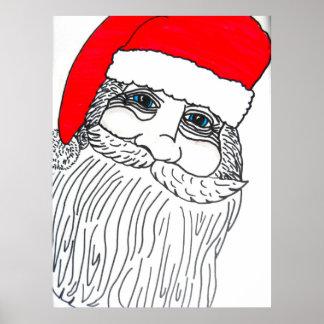 OLD SAINT NICK CHRISTMAS poster