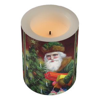 Old Saint Nick Flameless Candle