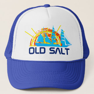 Old Salt one-of-a-kind beautiful customizable Trucker Hat