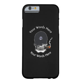 Old Salt Skull Custom Barely There iPhone 6 Case