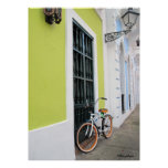 Old San Juan Bike Poster