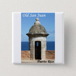 Old San Juan Button