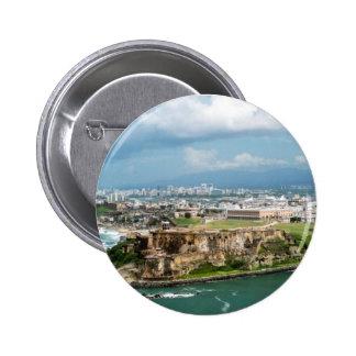 Old San Juan 2 Inch Round Button