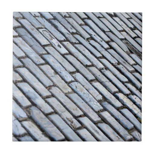 Old San Juan Cobblestone Small Square Tile