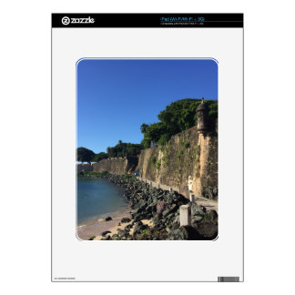 Old San Juan Historical Site Decal For iPad