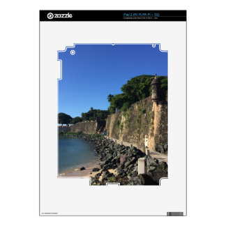 Old San Juan Historical Site Decals For iPad 2