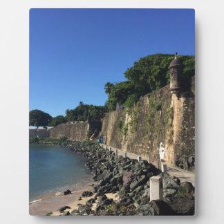 Old San Juan Historical Site Plaque