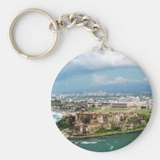 Old San Juan Key Chains