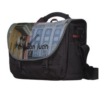 Old San Juan Laptop Messenger Bag
