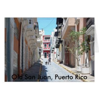 Old San Juan Notecards Card
