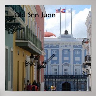 Old San Juan Posters