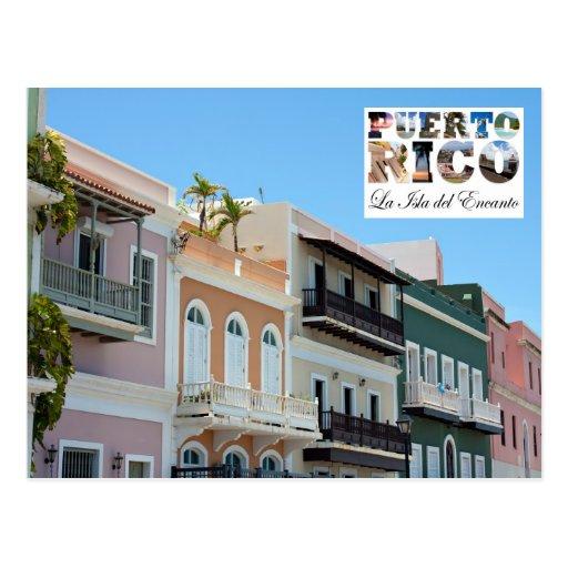 Old San Juan Puerto Rico Post Cards