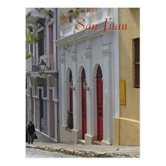 Old San Juan, Puerto Rico Souvenir Postcard
